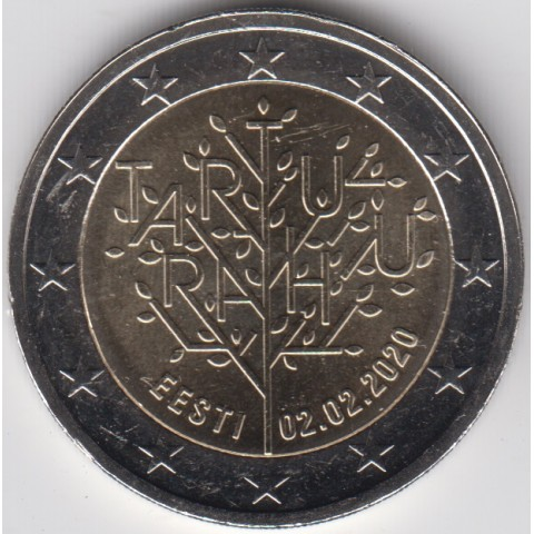 "2020. 2 Euros Estonia ""Tartu"""