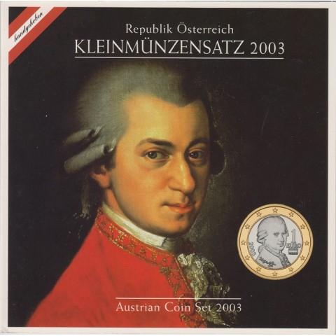 2003. Cartera euros Austria