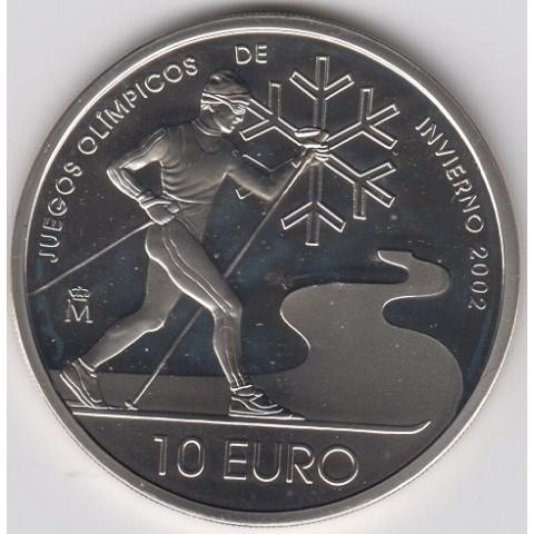 2002. JJOO Invierno. 10 euros