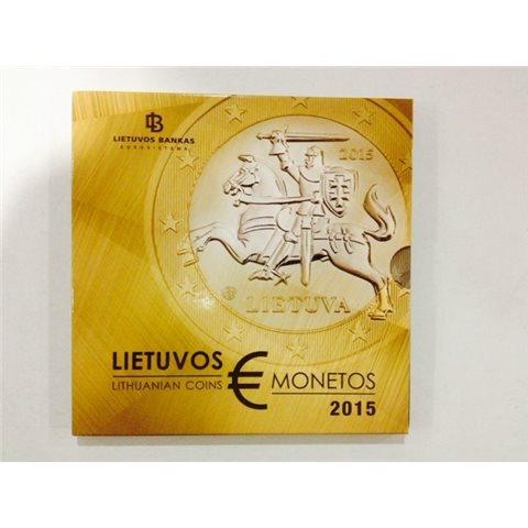 2015. Cartera euros Lituania