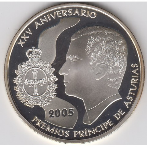 2005. XXV Aniv. Premios Príncipe Asturias. 10 euros