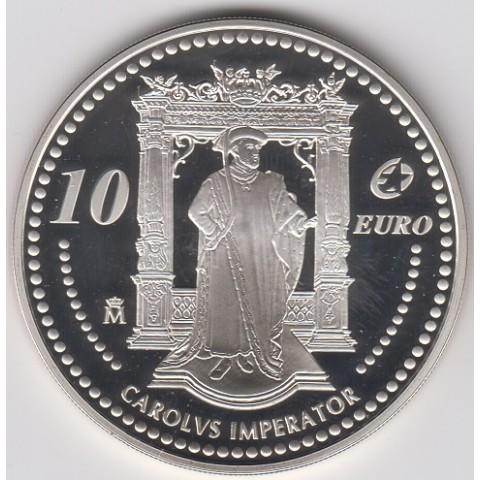 2005. Carlos V. 10 euros
