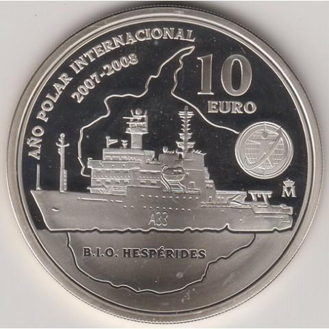 2007. Año Polar Internacional. 10 euros