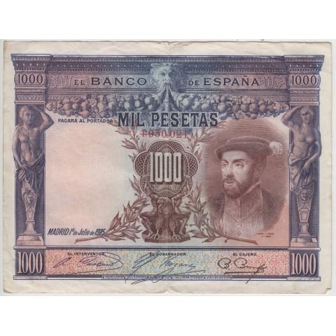 1925. 1000 Ptas Carlos I