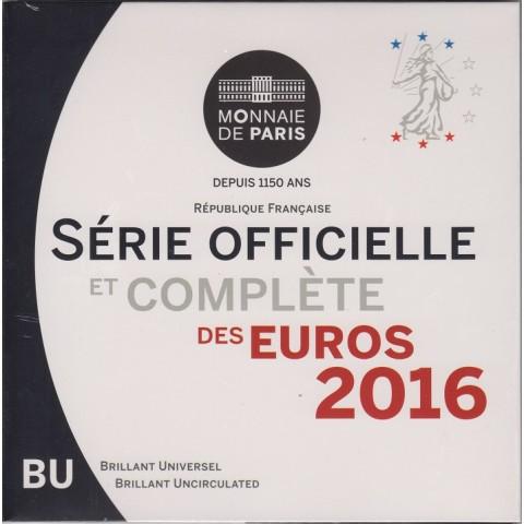 2016. Cartera euros Francia