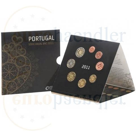 2011. Cartera euros Portugal