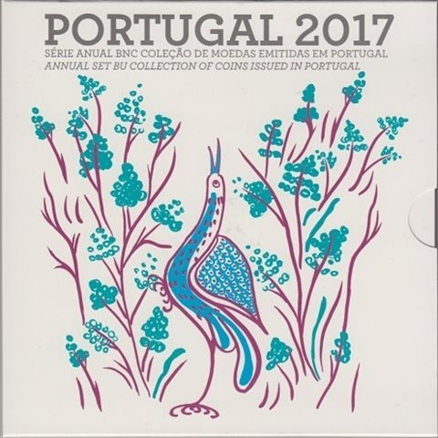 2017. Cartera euros Portugal