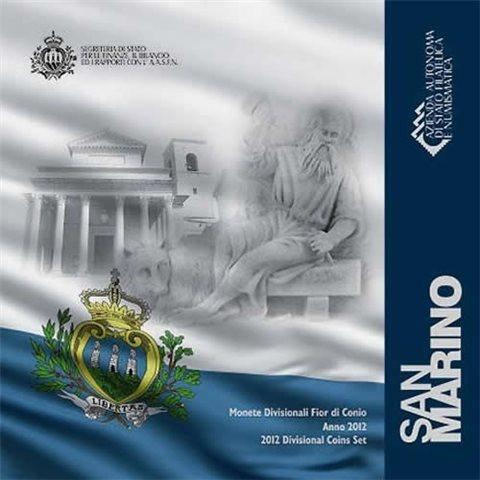 2012. Cartera euros San Marino