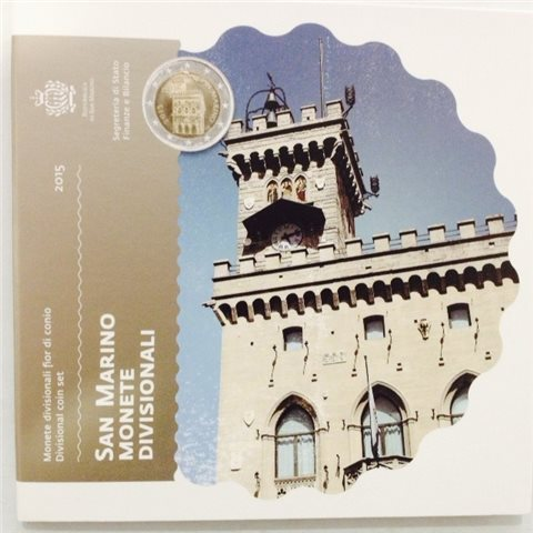 2015. Cartera euros San Marino