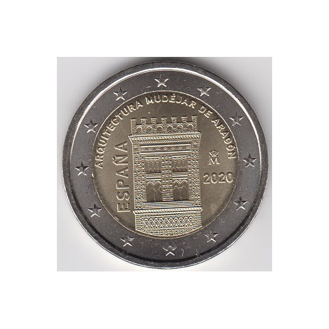 "2019. 2 euros España ""Mudéjar Aragón"""