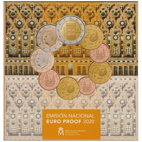 2020. Cartera euros España Proof
