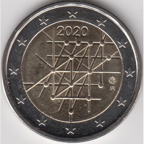 "2020. 2 Euros Finlandia ""Turku"""