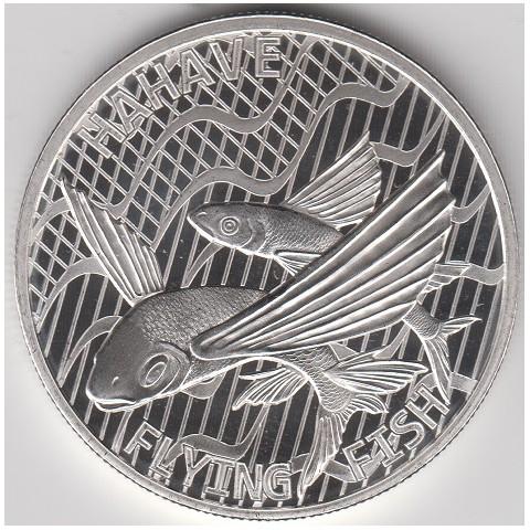 2020. Onza Tokelau. Pez volador