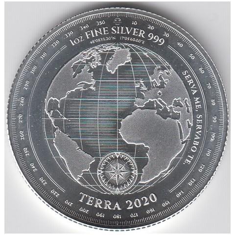 2020. Onza Tokelau. Mapa
