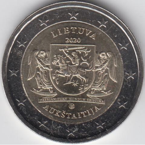 "2020. 2 Euros Lituania ""Aukstaitija"""