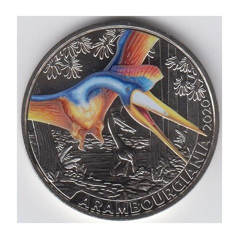 2020. Moneda 3 euros Austria. Arambourgiania