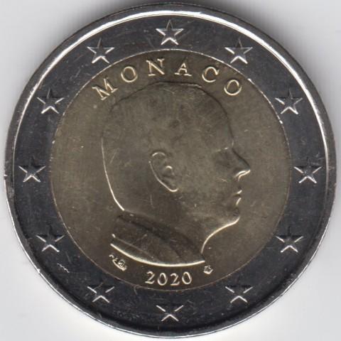 """2020. 2 Euros Monaco """"Alberto"""""""