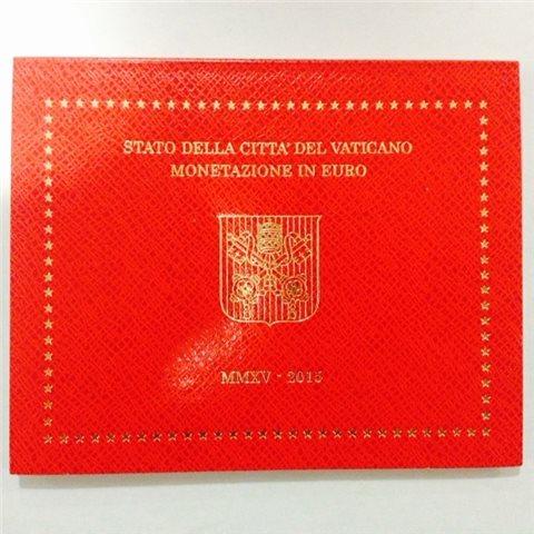 2015. Cartera euros Vaticano