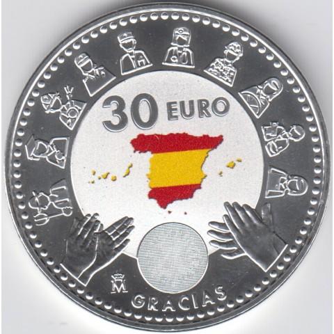 """2020. 30 Euros España """"Covid"""""""