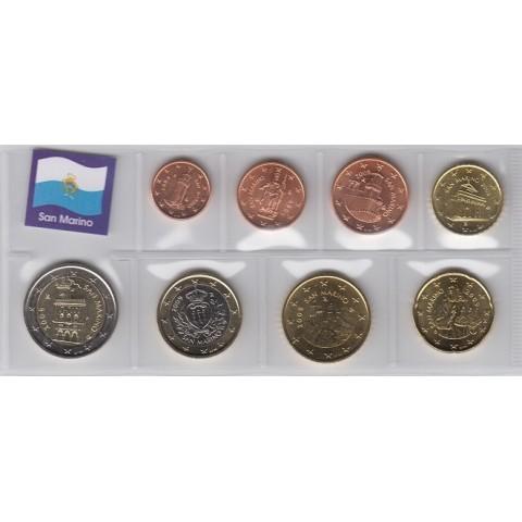 2009. Tira euros San Marino