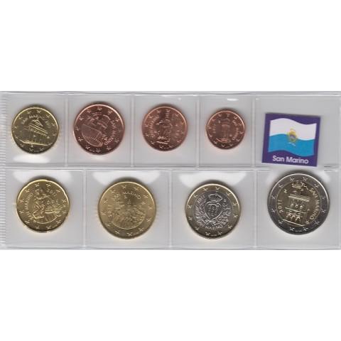 2011. Tira euros San Marino