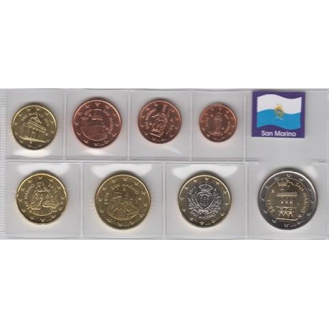 2014. Tira euros San Marino