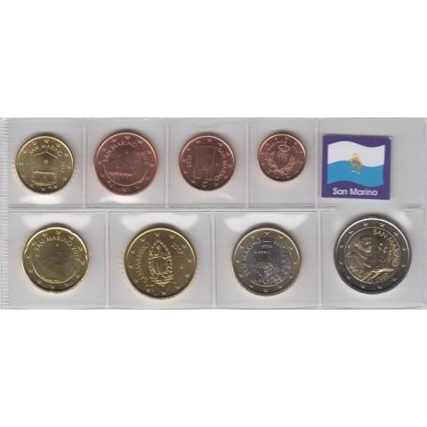 2017. Tira euros San Marino