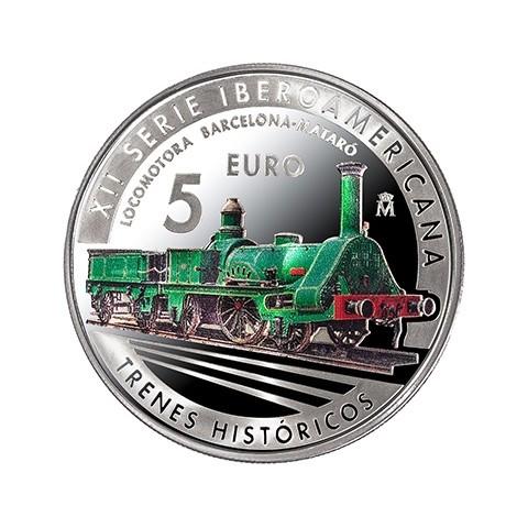 2020. XII Serie Iberoamericana. España. 5 euros