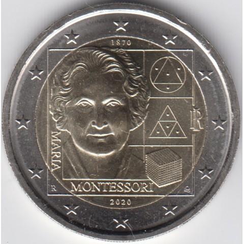 "2020. 2 Euros Italia ""Montessori"""