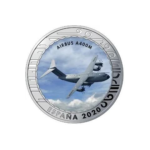 """2020. Aviación. 5 euros """"Airbus A400M"""""""
