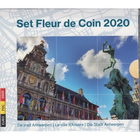2020. Cartera euros Belgica