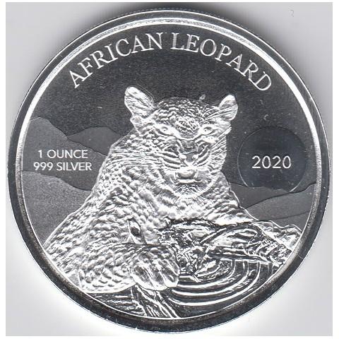 2020. Onza Ghana. Leopardo