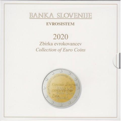 2020. Cartera euros Eslovenia