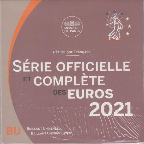 2021. Cartera euros Francia
