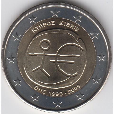 """2009. 2 Euros Chipre """"EMU"""""""