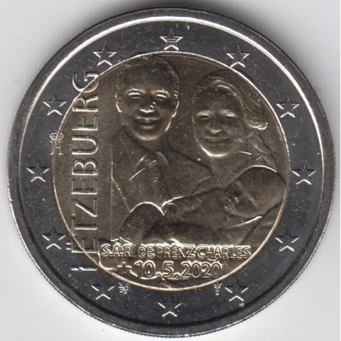 "2020. 2 Euros Luxemburgo ""Charles"""