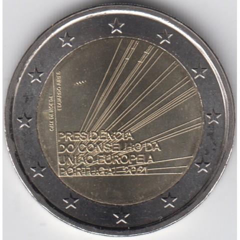 "2021. 2 Euros Portugal ""Presidencia UE"""