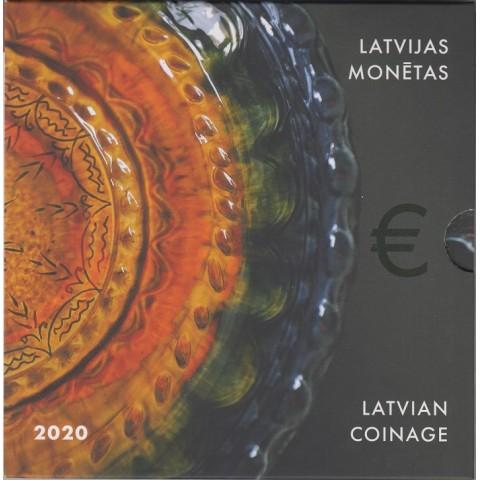 2020. Cartera euros Letonia