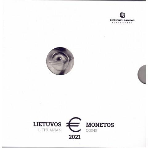 2021. Cartera euros Lituania