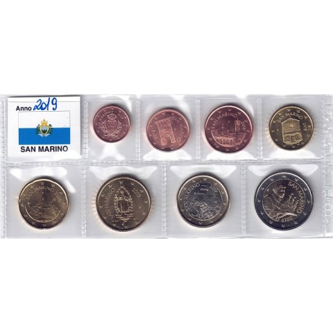 2019. Tira euros San Marino