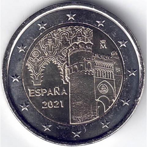 """2021. 2 euros España """"Toledo"""""""