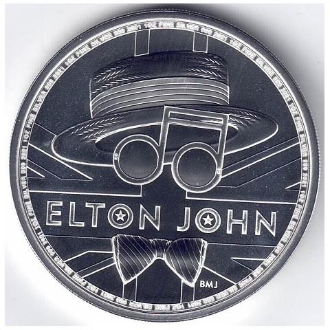 2020. Onza Britania. Elton John