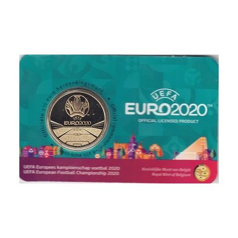 "2021. 2,5 Euros Bélgica. ""UEFA"""