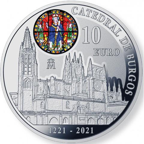 2021. 800 Aniv Catedral Burgos