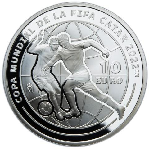 2021. Copa Mundial FIFA Catar 22. 10 euros
