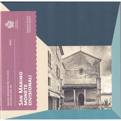 2021. Cartera euros San Marino