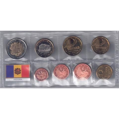 2016. Tira euros Andorra