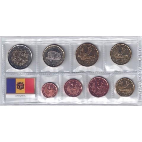 2015. Tira euros Andorra