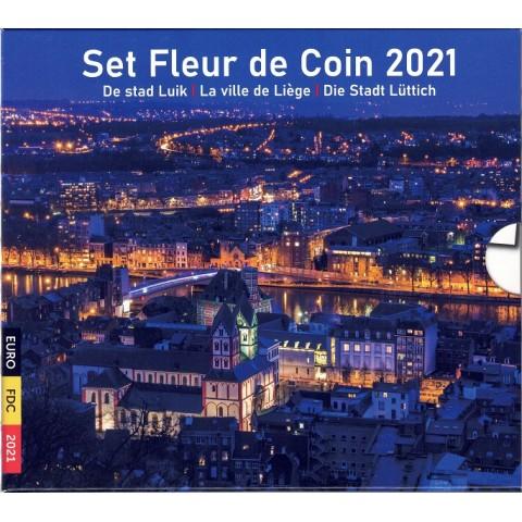 2021. Cartera euros Belgica