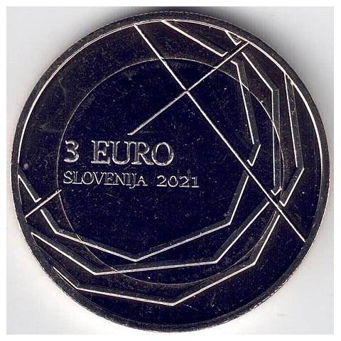 """2021. 3 Euros Eslovenia """"Skofja Loka"""""""